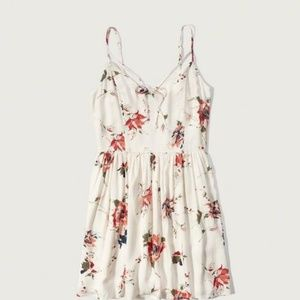 Abercrombie & Fitch strappy skater dress